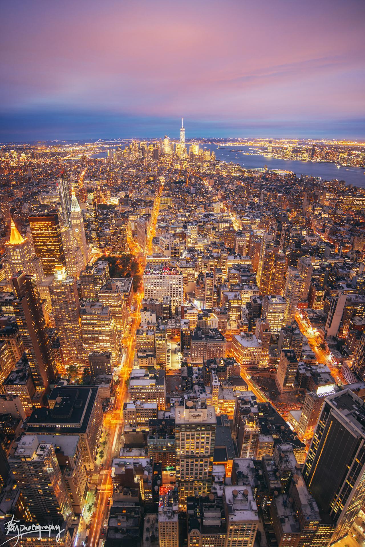 有哪些漂亮的城市夜景图?