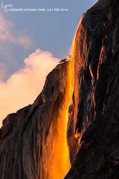 还有一周,去优胜美地看火瀑吧 | 2017最新攻略