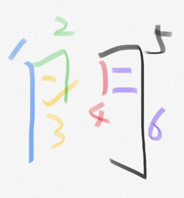 门 字的笔画顺序到底是什么