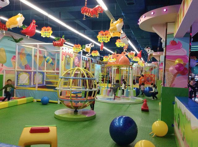 兰州儿童乐园生产厂家 加盟资讯 游乐设备第1张