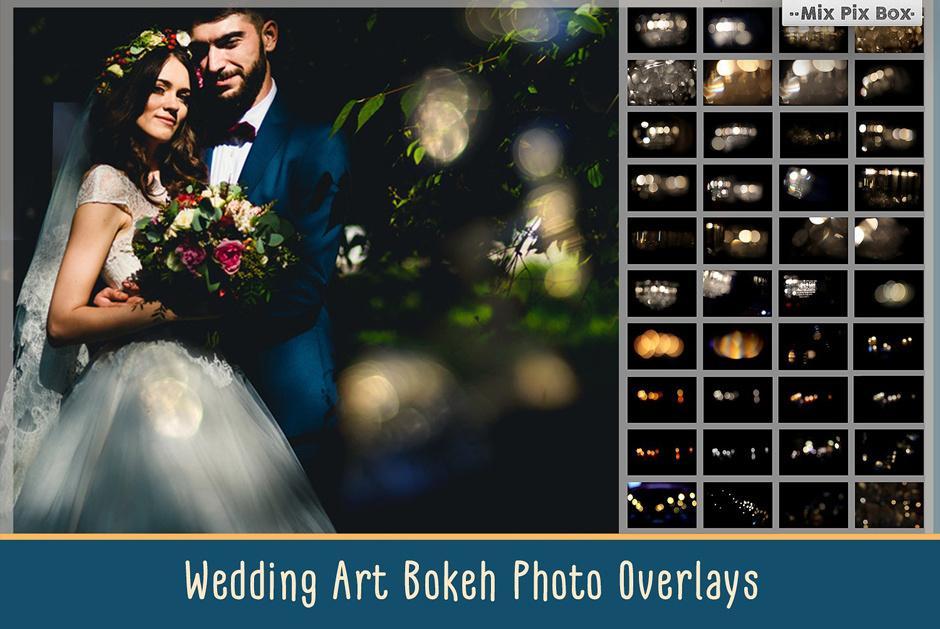 【S328】5K高清大气艺术婚礼婚纱散景光斑叠加合成素材(附教程)