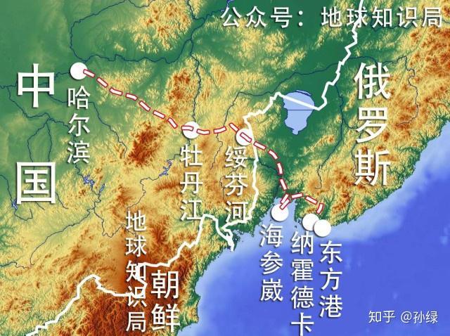 中国为什么放弃海参崴?