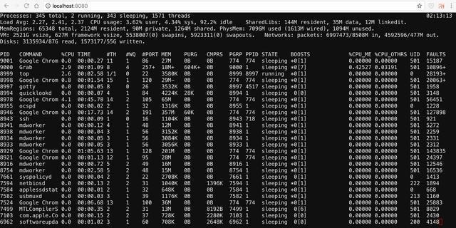 GoTTY:基于go语言的Linux终端Web共享