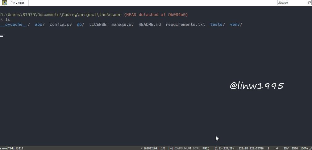 Windows上的程序员神器——Cmder