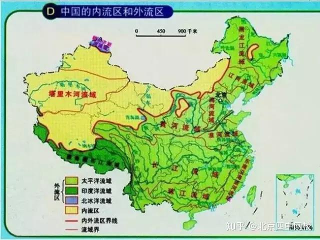 中国地理三大阶梯图_23张图片瞬间让你记住中国地理知识点! - 知乎