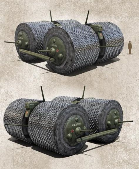 """斯大林同志,我们设计的坦克…""""是个球"""""""