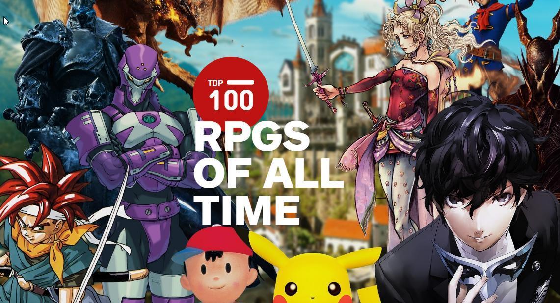 """对于IGN最近的""""史上100款最佳RPG""""榜单,你得这么看"""