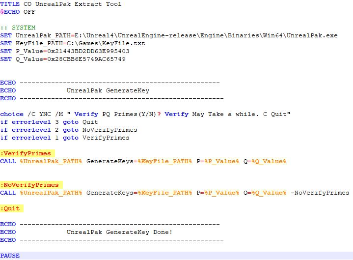 UnrealPak功能介绍- 知乎