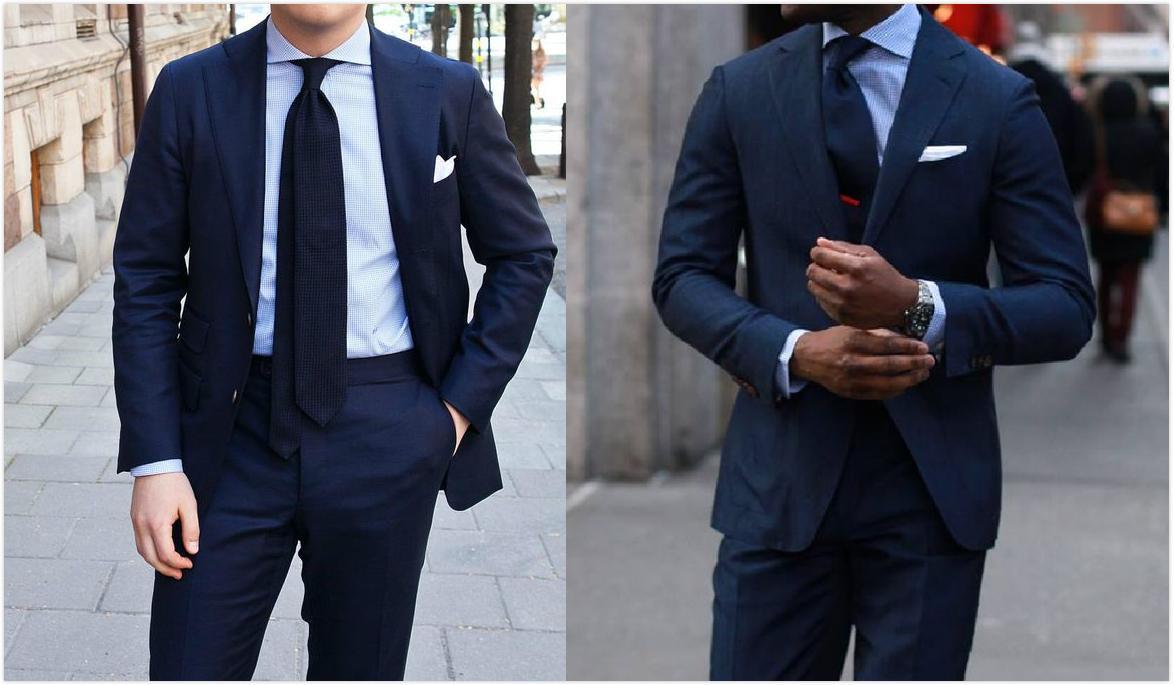 藏青色的西藏配什么领带_深蓝色西装搭配小赏 - 知乎