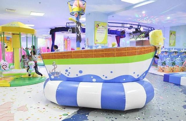 在商场里开一家儿童乐园能赚钱? 加盟资讯 游乐设备第1张