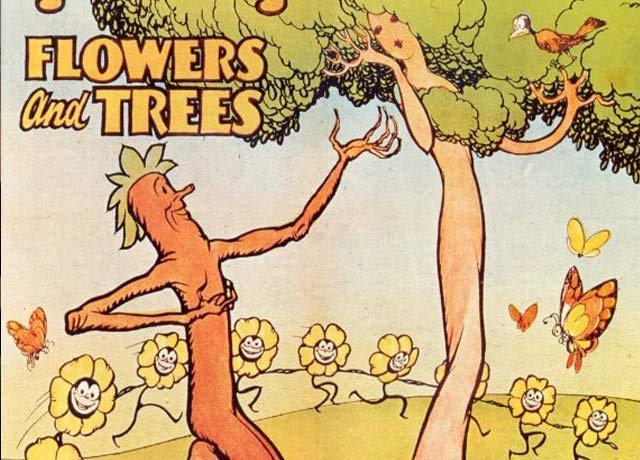 最古老的奥斯卡动画短片 《花与树》