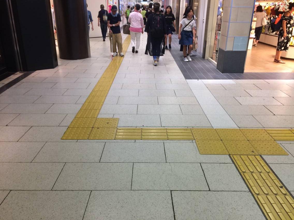 有多少日本人在中国_盲道的建设是一种浪费吗? - 知乎