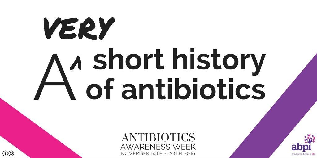 抗生素极简史