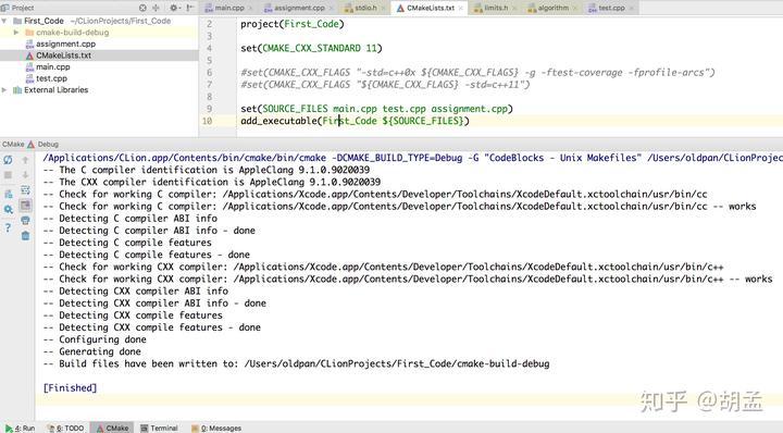 Clion code coverage