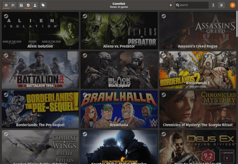 用 GameHub 集中管理你 Linux 上的所有游戏