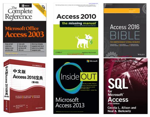 Access学习资源推荐——高级书籍篇