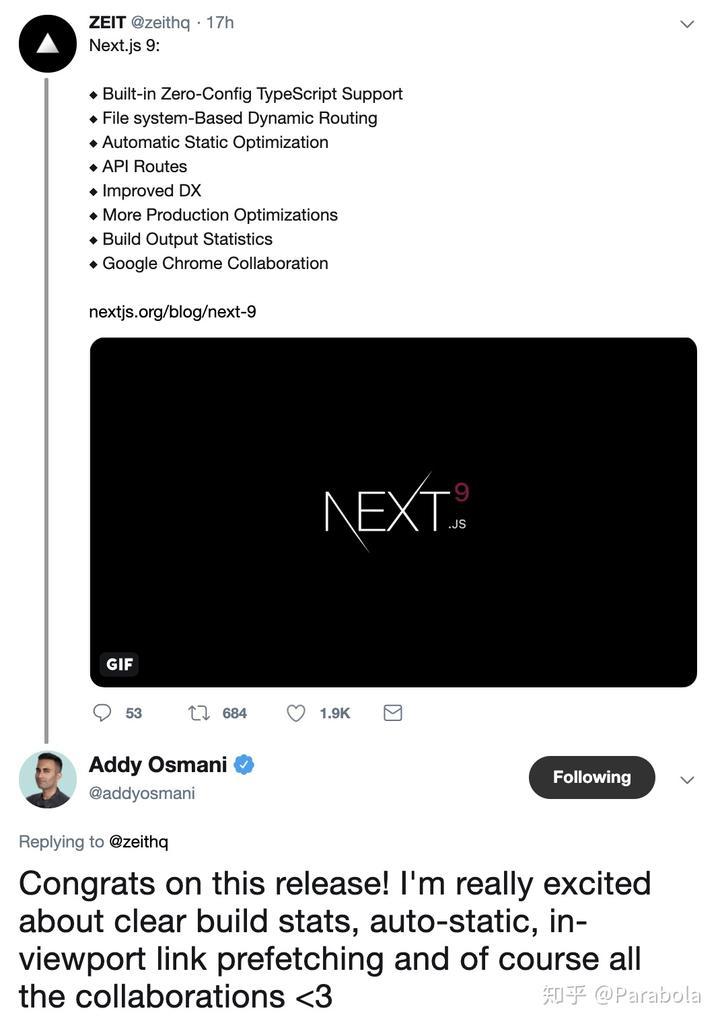 Next js 9 发布- 知乎