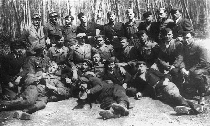 1944年4月的德乌协防据点