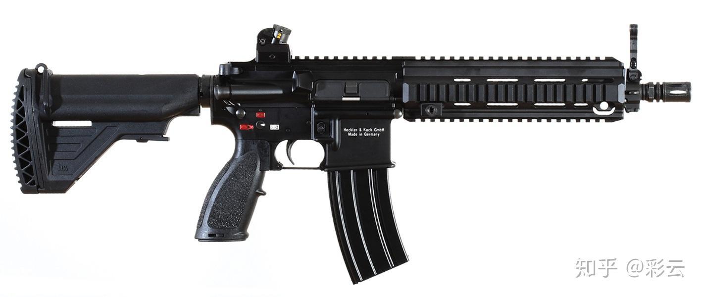 枪结构_M416在现实生活中 存在吗? - 知乎