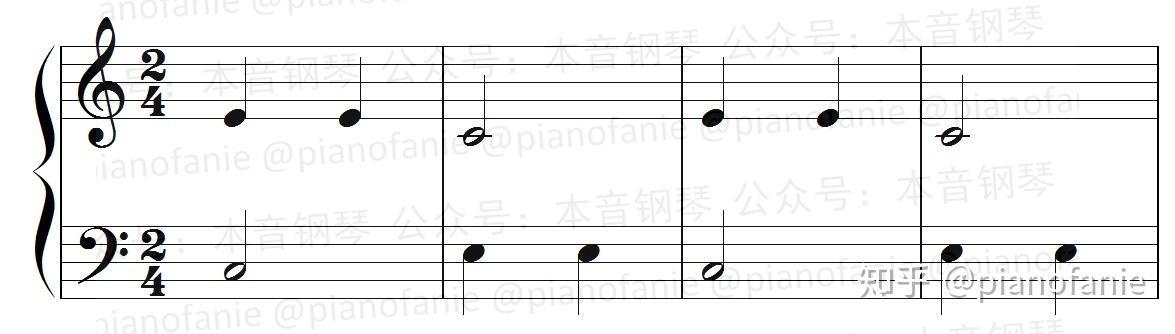 现代钢琴基础教程2_【课程】乐理知识讲重点第九课(节拍与节奏) - 知乎