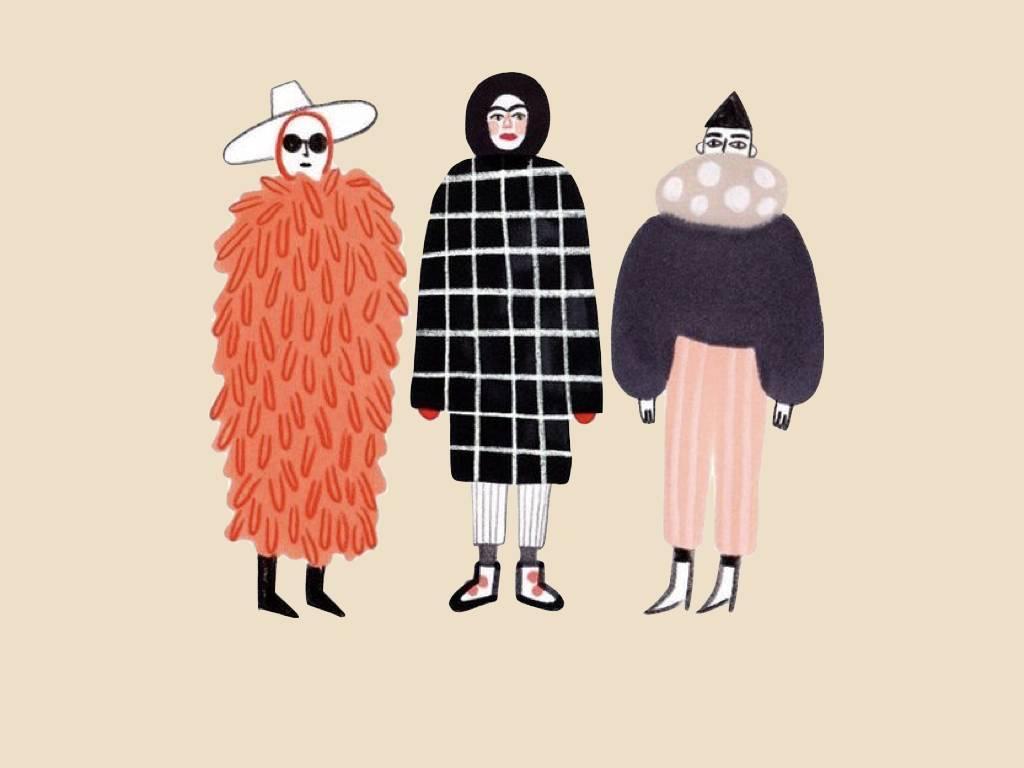 羽绒服怎么穿才能不土不怂不像熊 2.0 | 女神进化论