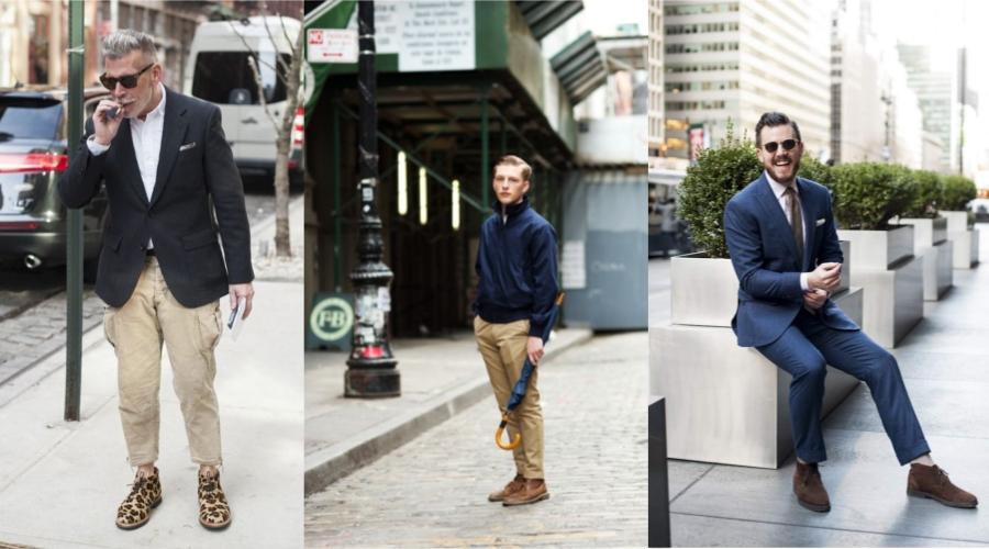 男装基本款 | 沙漠靴怎么穿?男生约会穿什么鞋?男鞋基本款