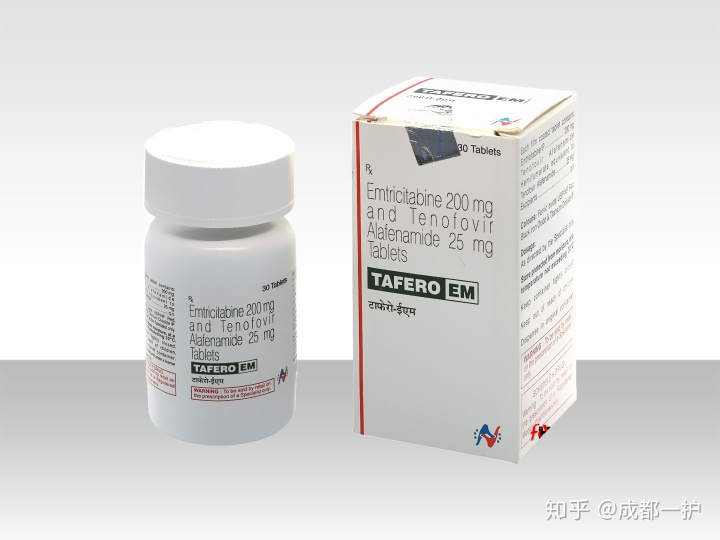 TAFERO-EM印度二代PrEP,印度达可挥,暴露前预防!