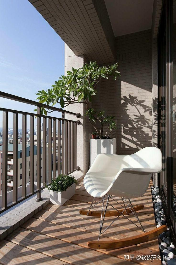 家具设计_30个开放式阳台设计方案 - 知乎