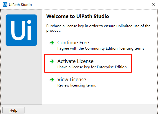R022---手动激活(非命令行方式)UiPath企业版Studio - 知乎
