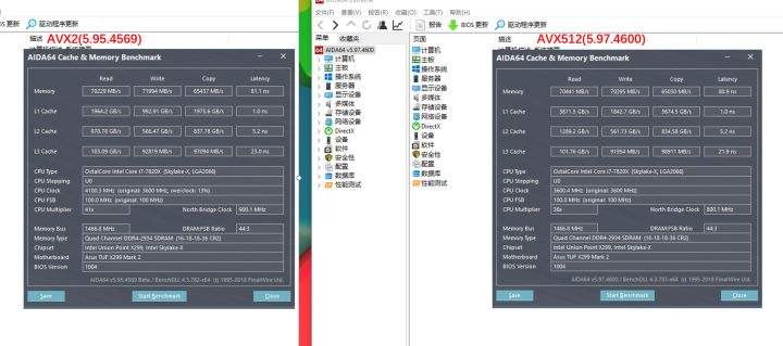 AIDA64支持AVX-512,带来何种变化? - 知乎