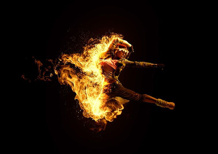 【S279】Gif Animated汉化系列梦幻特效动作之如火如荼