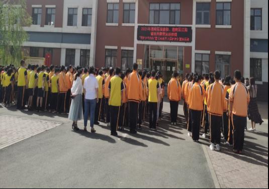 """乌海法院举行""""守护少年的你""""普法进校园宣传活动"""