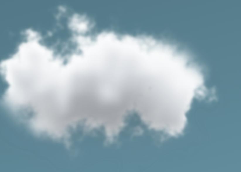 天边一朵云-徒手用html生成一朵云,很真的那种