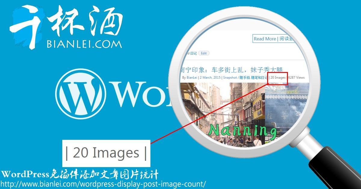 WordPress免插件添加文章图片统计!适合图片博客的好功能