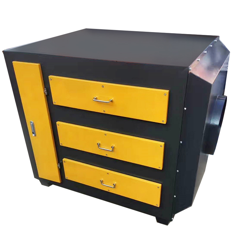 废气处理常见设备之活性炭吸附设备