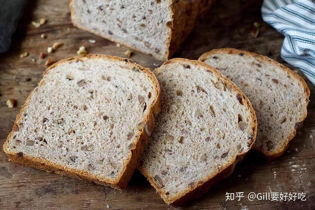 全麦面包减肥餐图片