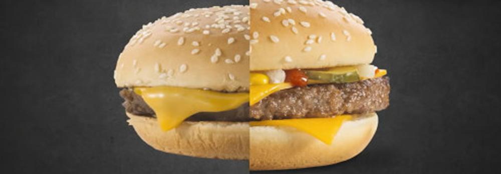 为什么你吃的食物跟广告上的永远不一样?
