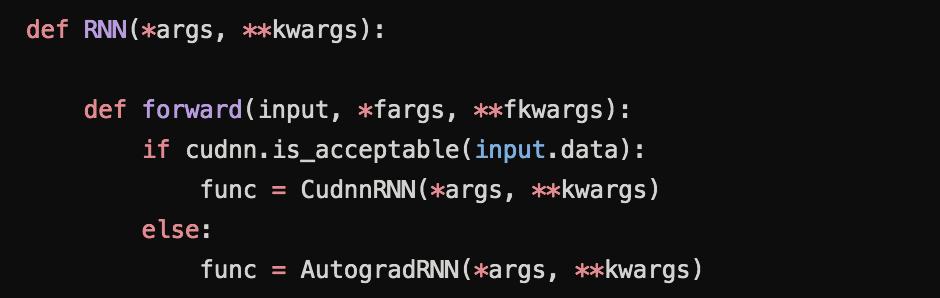 读PyTorch源码学习RNN(1)