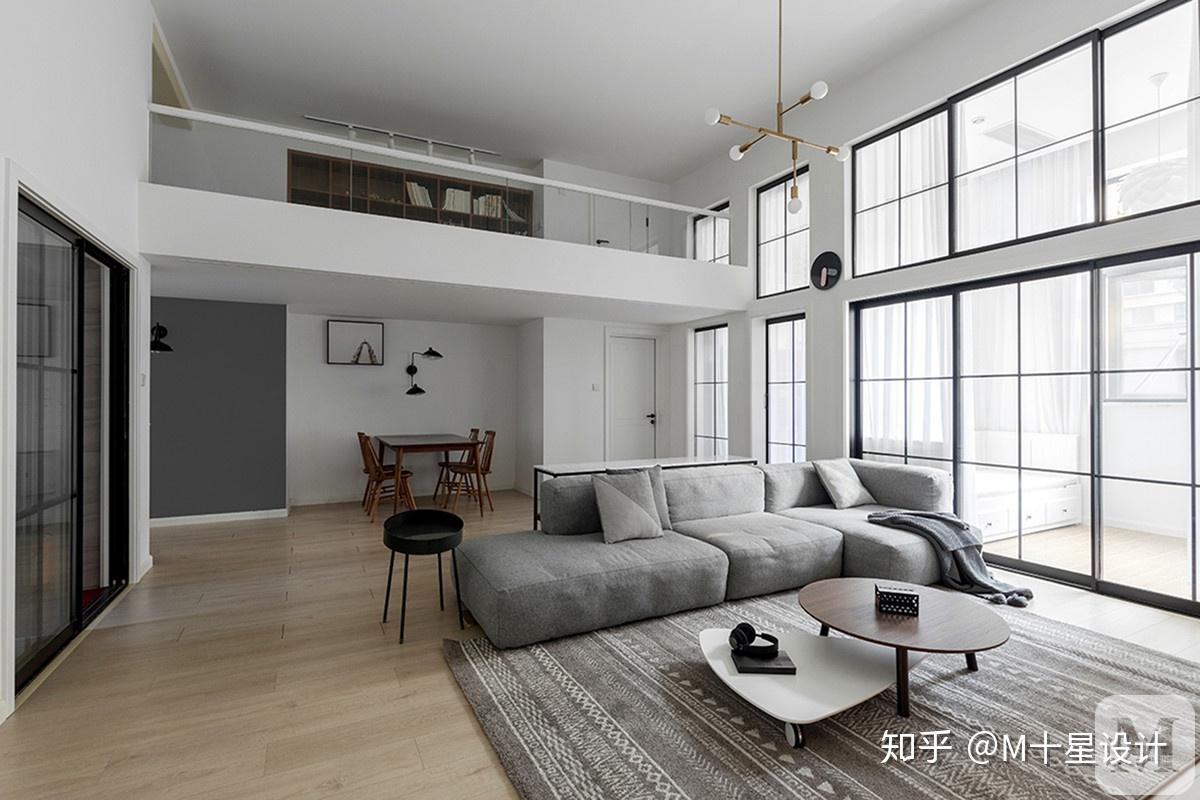 层高4米隔层效果图_层高4.5米精装修公寓,隔成2层,客户觉得很压抑,怎么说服客户 ...
