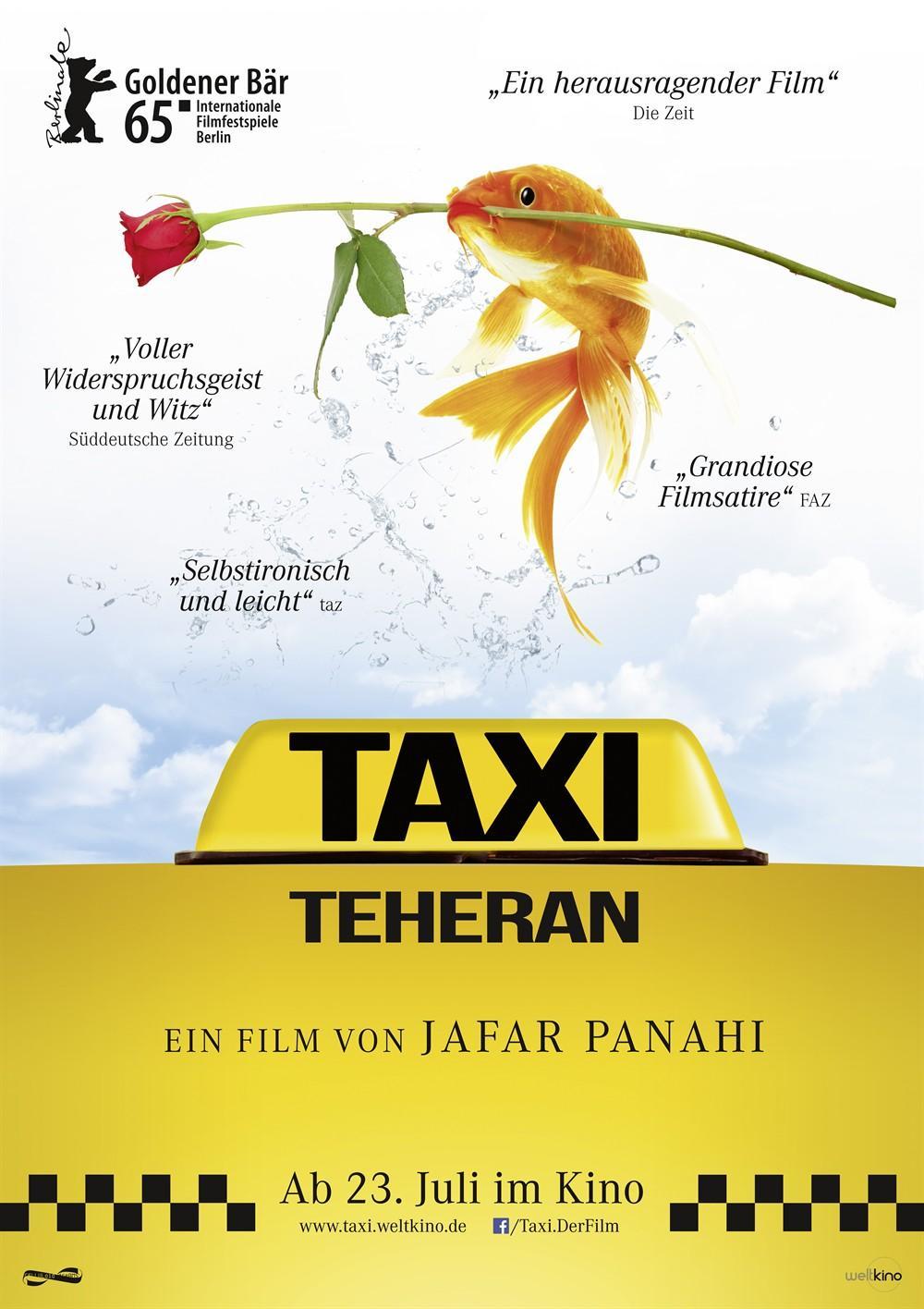 《出租车》看伊朗导演如何带着镣铐跳舞