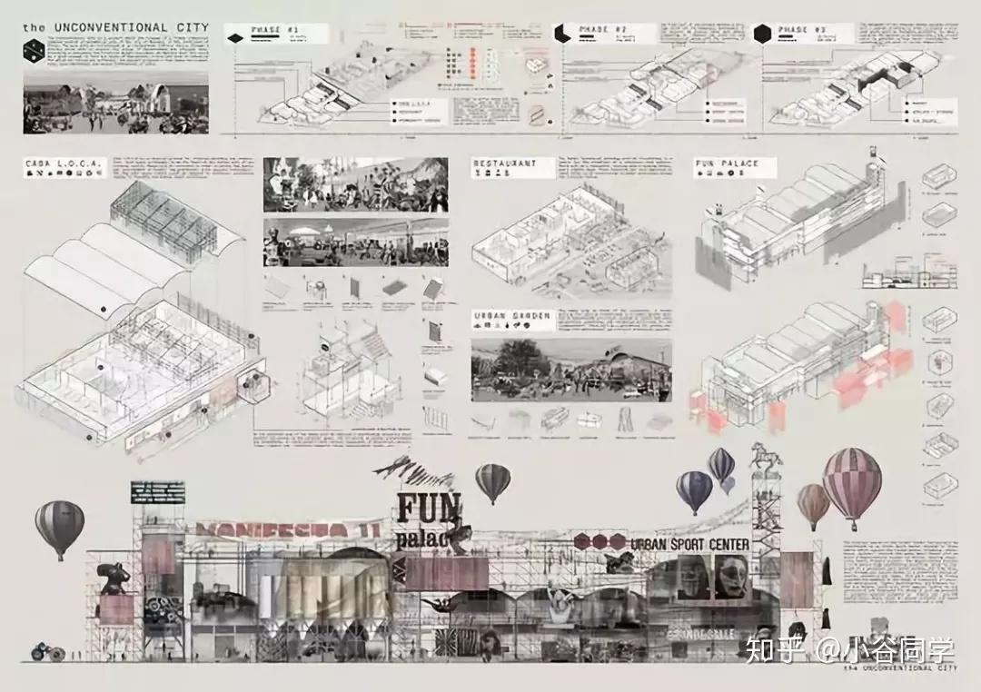 横版排版_建筑设计100例精选排版,带你速速出图! - 知乎
