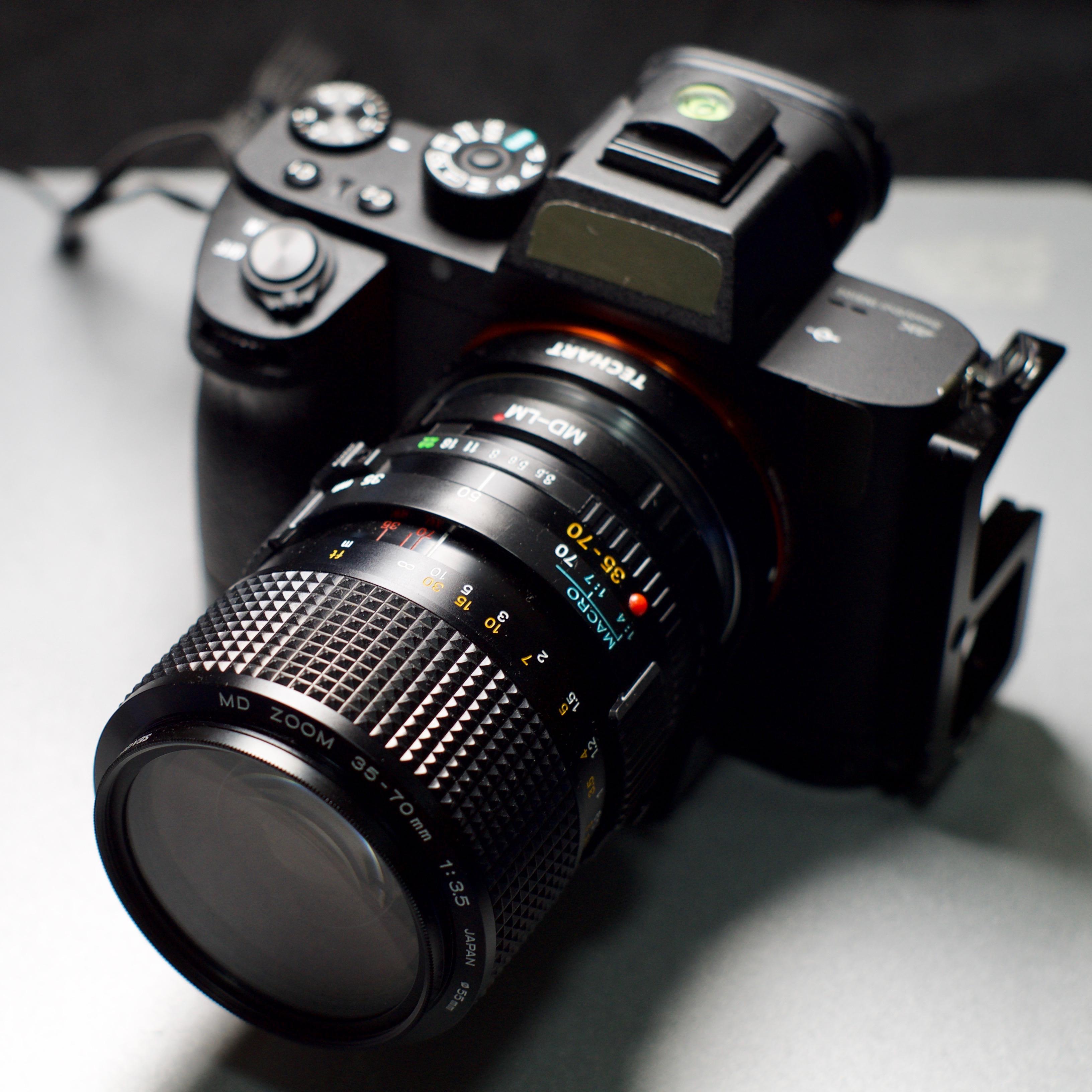 【样片】百元挂机头:美能达 MD 35-70 F3.5 Marco 版本恒定光圈变焦镜头