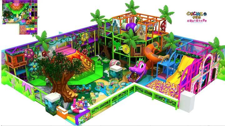 2020年儿童淘气堡乐园主题风格大盘点! 加盟资讯 游乐设备第6张