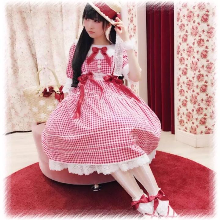 elpress家_想入一些纯色系没什么图案的 Lolita 小裙子,求推荐? - 知乎
