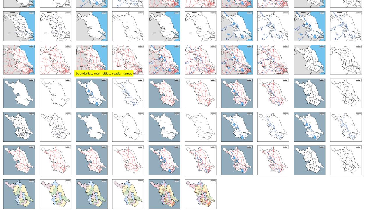 补充资源:用Excel做出强大漂亮的数据地图
