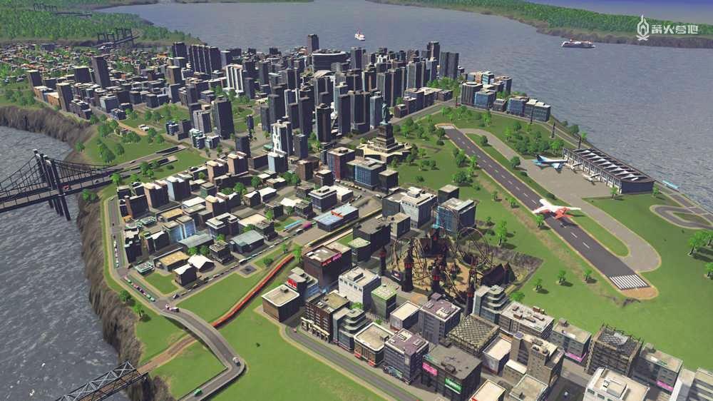 都市天际线减少人口增长_都市天际线真实人口
