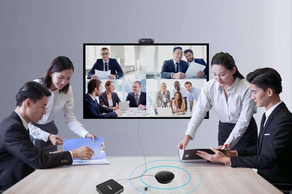 用电视开视频会议,临场效果绝对是你意料之外的