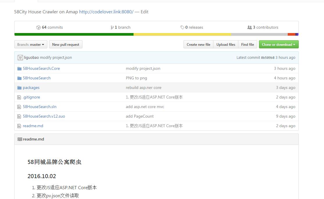 58HouseSearch项目迁移到asp.net core