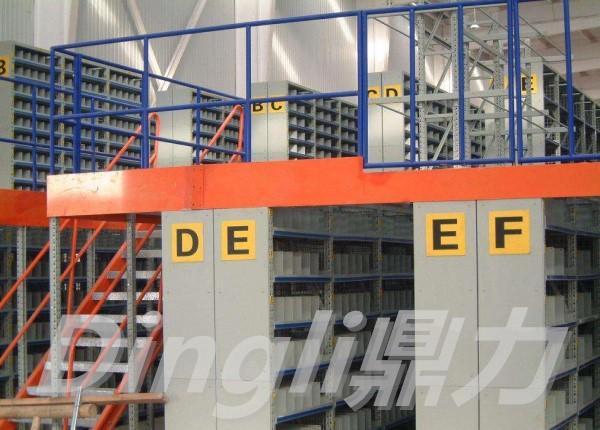 佛山货架厂定制每平方承重500KG的平台货架