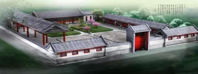 三进宅院图片_关于四合院,这是我见过的最详细的文章了,中国建筑文化太强 ...